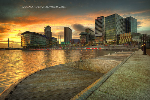 Media City Sunset | by www.andrewbrownphotography.com