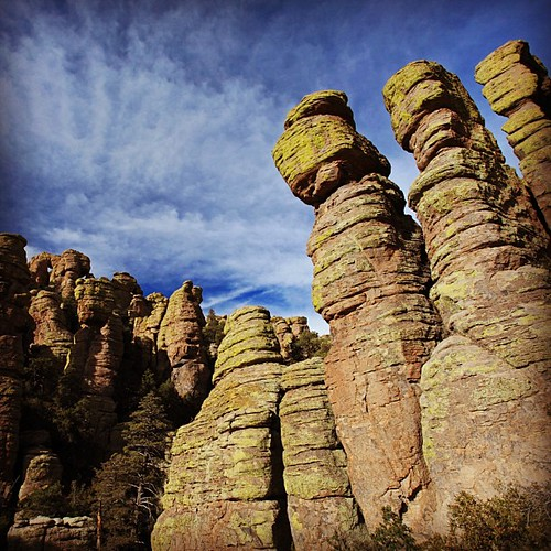 The Chiricahuas in southern AZ. Like a smaller Bryce canyon | by theorem