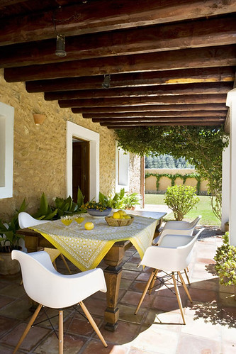 a home on ibiza, spain | by the style files
