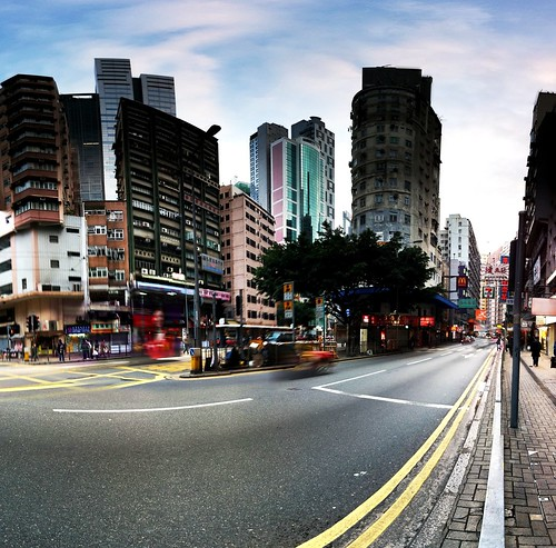 Wan chai on an usual morning | by max33.net