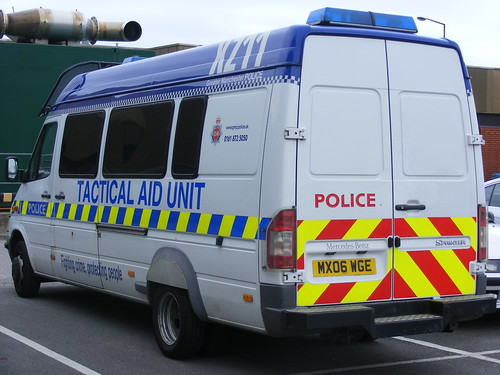1408 - GMP - Greater Manchester Police - Mercedes Sprinter CDi - MX06 WGE - TAU | by Call the Cops 999