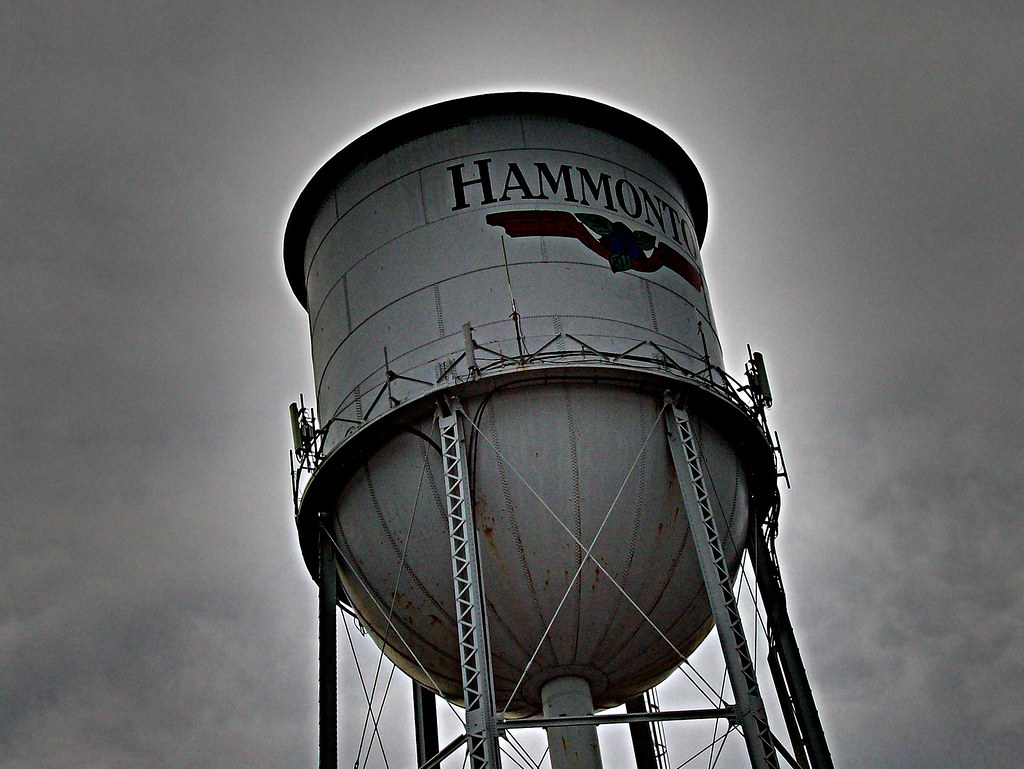 Hammonton Water Tower As Some Of You Know Our Water Has B Flickr