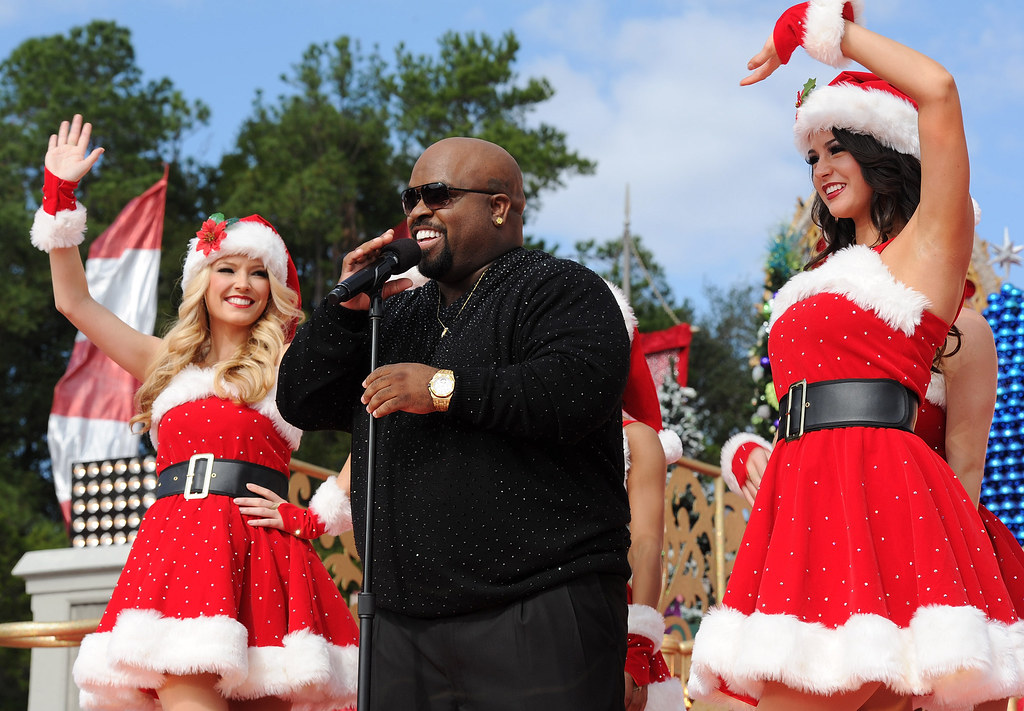 cee lo green tapes christmas tv show at walt disney world by insidethemagic - Christmas Tv Shows