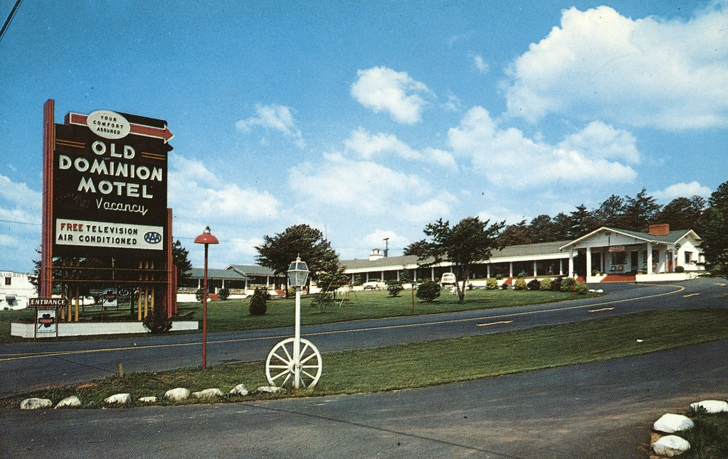 Old Dominion Motel - Roanoke, Virginia