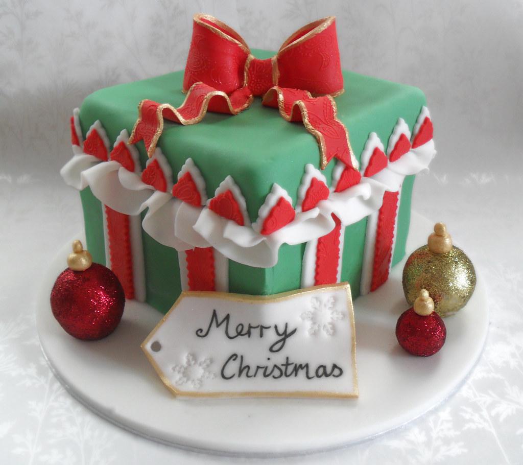 Christmas gift cake ideas