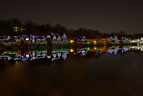 Boathouse Row Holiday Lights | by michaelwm25