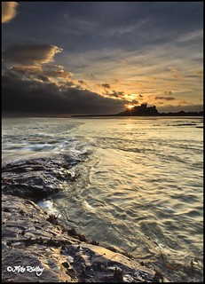 Bamburgh Castle Sunrise | by Mike Ridley.