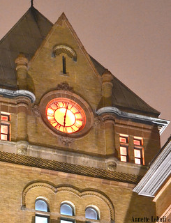 Old Main Clock | by Annette LeDuff