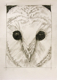 Snowy Owl . . . The Sketchbook Project | by bettyfromtexas