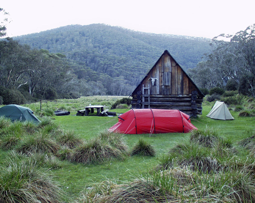 Alpine Park Camping At Dibbins Hut Alpine National Park Dibbins Hut I Flickr