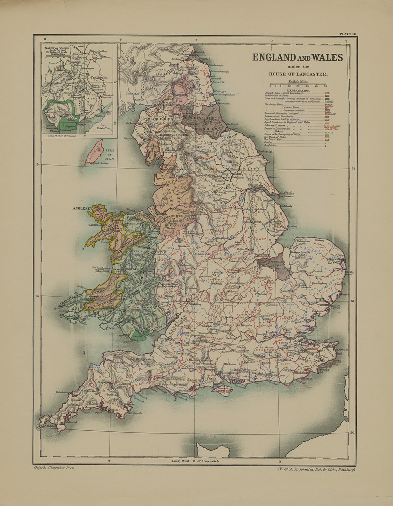 Section XX Map page of England and Wales under the House o… | Flickr