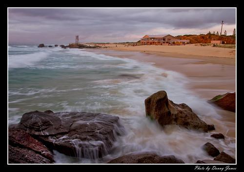 Sunrise - Redhead Beach - 21-01-2012_0085-Framed | by DoctorJ73