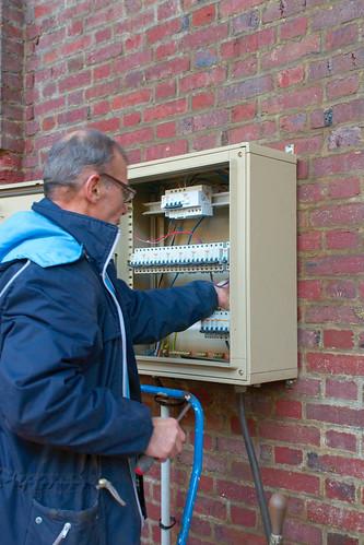 Installation d une armoire lectrique installation d une - Installation d une armoire electrique ...