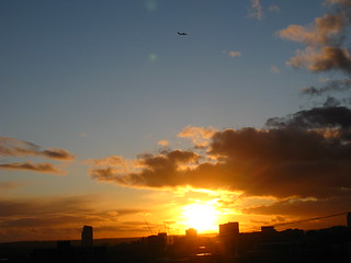The sun setting over Leeds | by Gary Chatterton 4 million Views