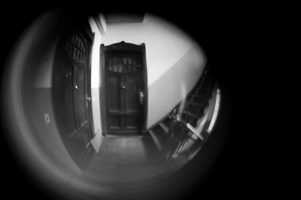 ... Front door Judas-hole fish eye lens | by Robin Joensuu & Front door Judas-hole fish eye lens | Who needs to buy expenu2026 | Flickr