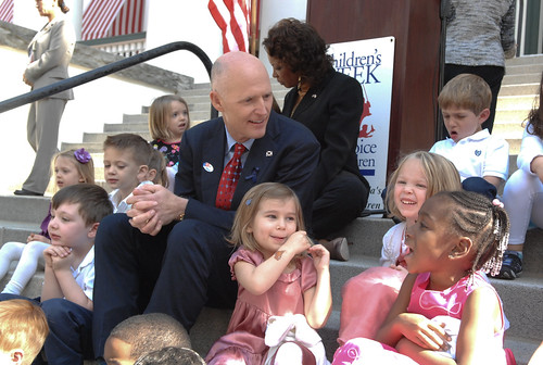 Governor Scott and Lt. Governor Carroll help kick off Children's Week last week at the Capitol | by FLGOVSCOTT