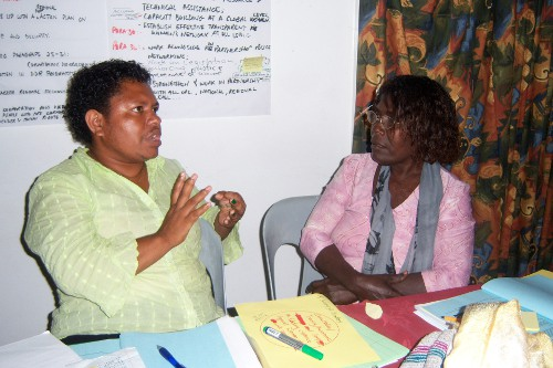 PNG WoT group discussion 2011 | by IANSA - Global Movement Against Gun Violence