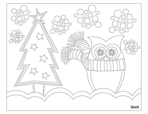 Valentina Design Coloring Pages