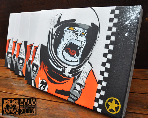 SNUB-Space-monkey-CANVAS | by SNUB23