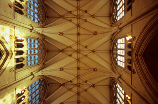 roof of the nave | by Ron Layters