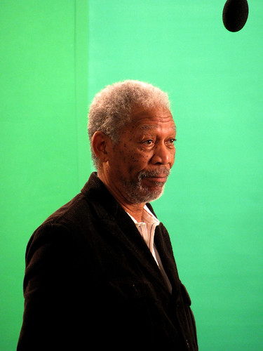 Morgan Freeman / Discovery Shoot | by NASA Goddard Space Flight Center