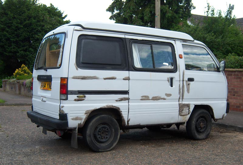... 1989 Suzuki Super Carry camper (2007) | by Spottedlaurel