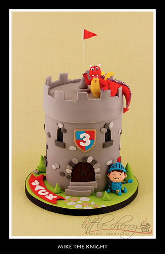 Mike the Knight Cake | by Little Cherry Cake Company