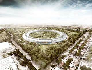 Apple Inc.  New Headquarters | by MarkGregory007