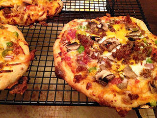 Homemade pizzeria pizzas | by lesley zellers