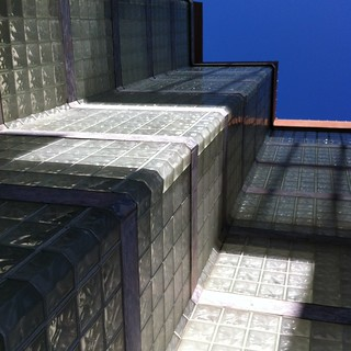 Glass Block Walls + Sky | by dbaniaga...aka: Dude