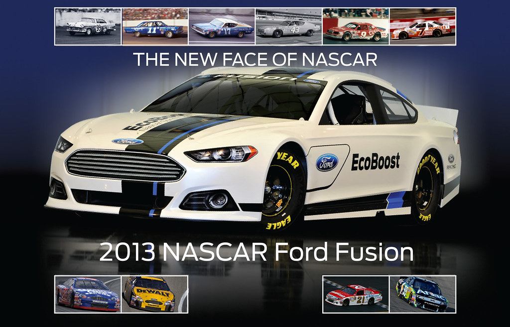 2013 Nascar Ford Fusion The New Face Of Ford Just Became Flickr