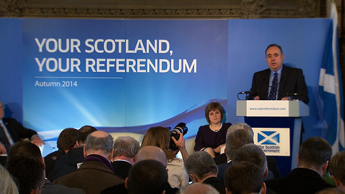 Referendum consultation - press conference | by Scottish Government