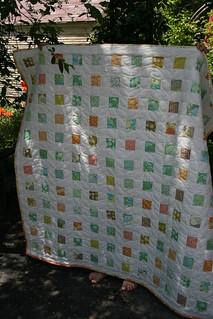 Amy Butler throw for the kindergarten teacher | by Leigh - leedle deedle quilts