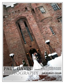 Dalhousie Castle Winter Wedding Photographs | by PaulGavinPhotography