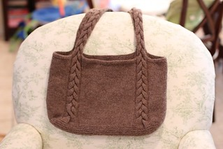 Felted Bag - after felting | by chemicallyblonde
