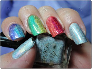 Nail 9 - RAINBOW Nails (esmaltes holográficos) | by ♥Iva♥