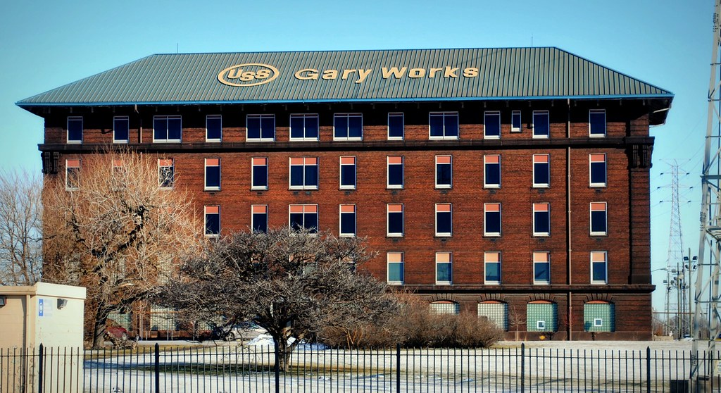 United States Steel Gary Works Gary Indiana Cragin Spring - Us steel gary works map