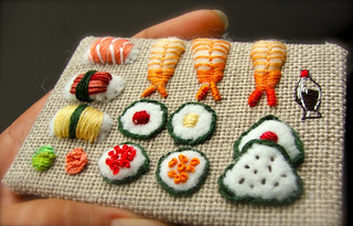 sushi ATC scale | by Smallest Forest