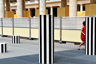 Paris. Palais Royal. Les Colonnes de Buren | by bernache