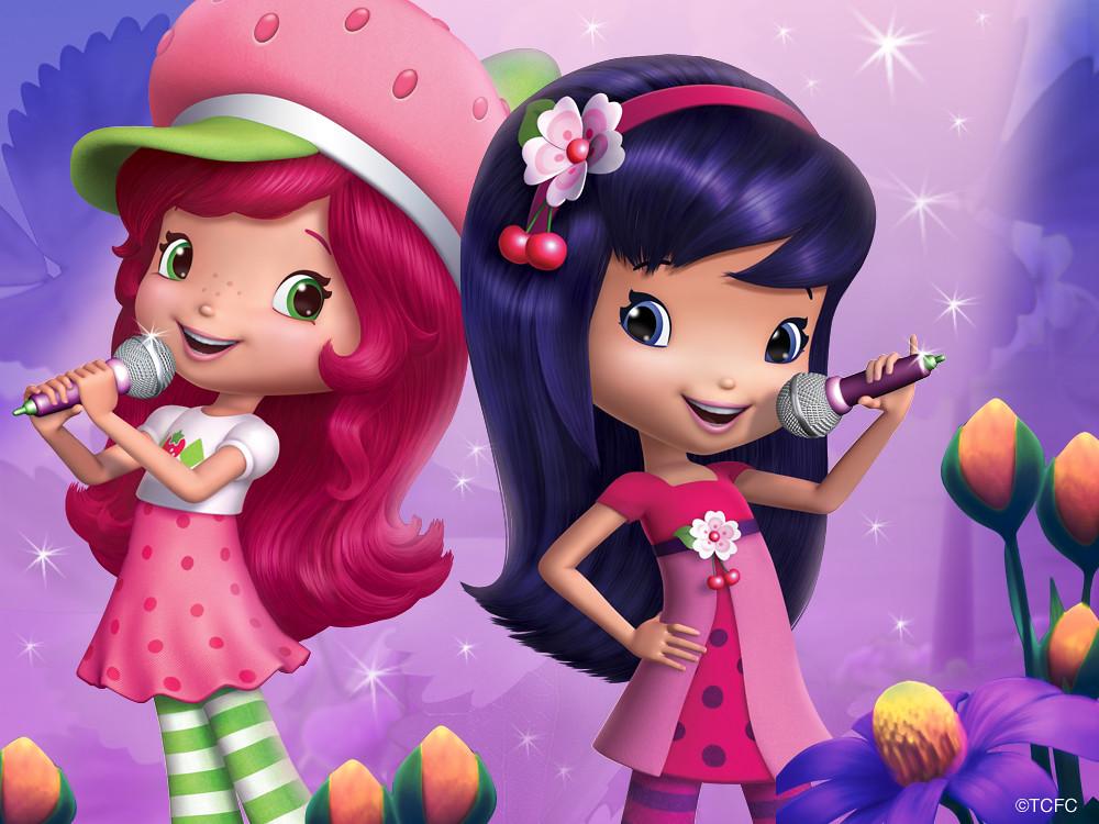 strawberry shortcake cherry jam raquoshshortcake flickr