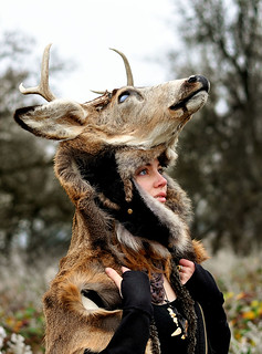 Deer Headdress | by Little Lioness