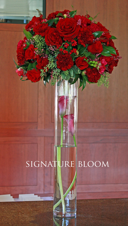 Palo Alto Wedding Flowers Red Flower Centerpieces Flickr