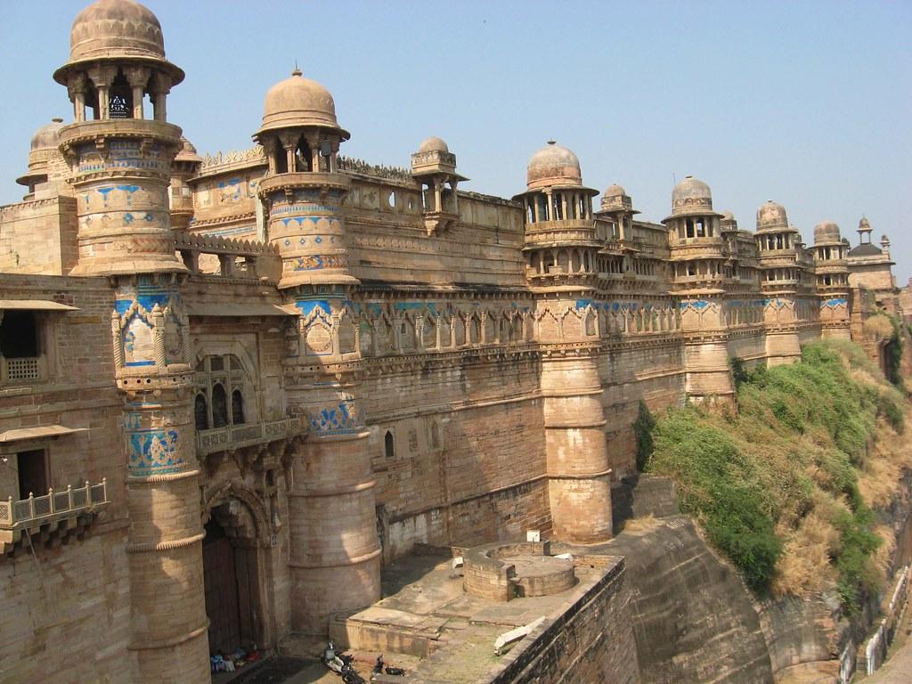 Gwalior Fort Madhya Pradesh India Man Singh Palace For I Flickr