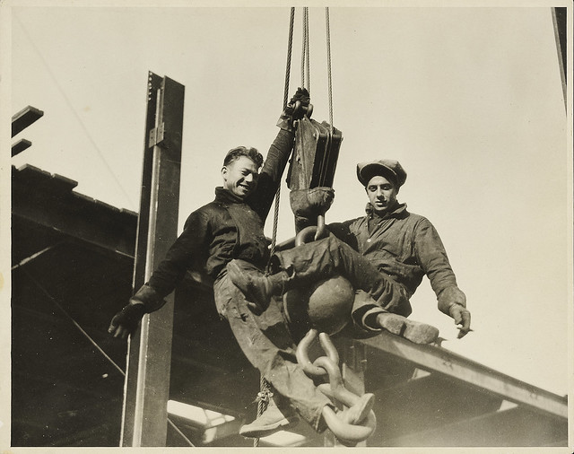 Lewis Hine, Construction Workers
