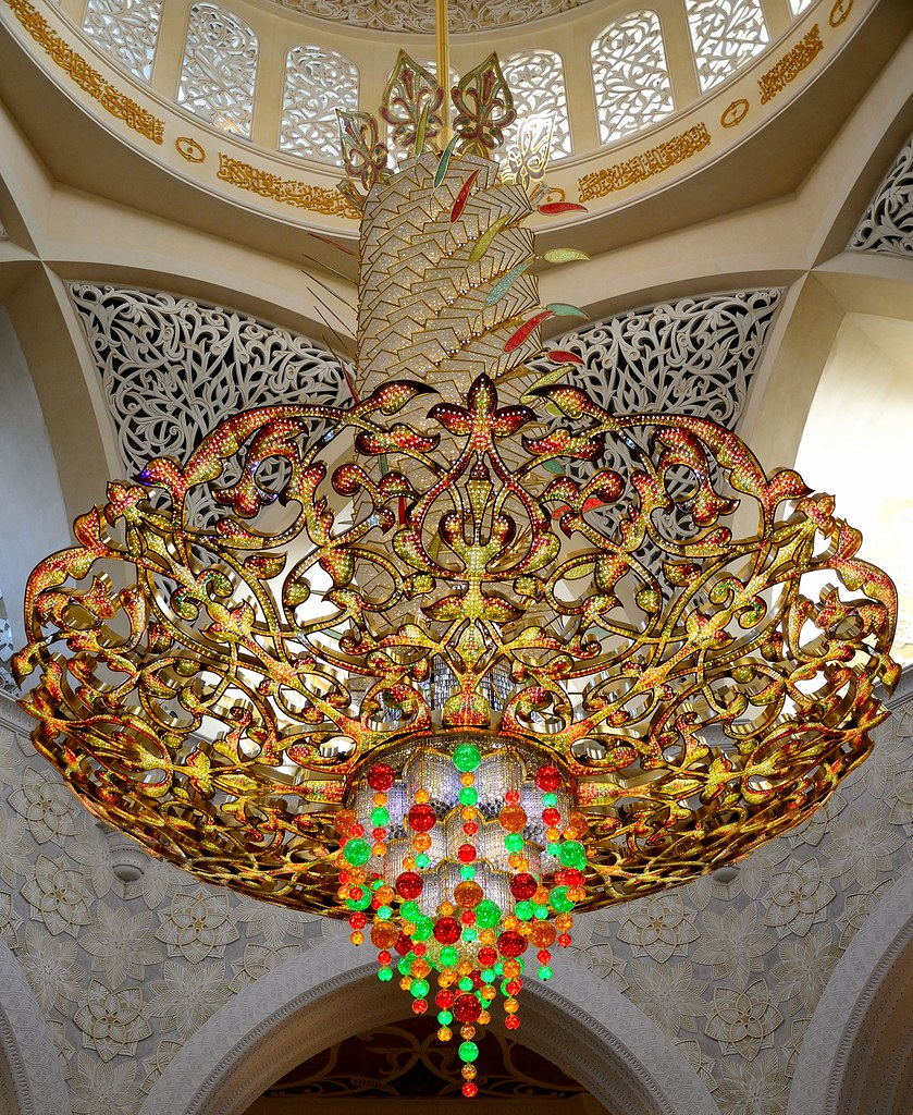 Grand Chandeliers of Sheikh Zayed Grand Mosque, Abu Dhabi | Flickr
