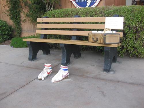 forrest gump bench - 500×375