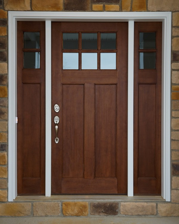 ... Craftsman Style Front Door | By Wayne Homes