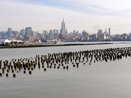 Old Pier Pylons near Hoboken | by freewalkers