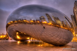 The Bean Under a Purple Sky | by Andrew E. Larsen