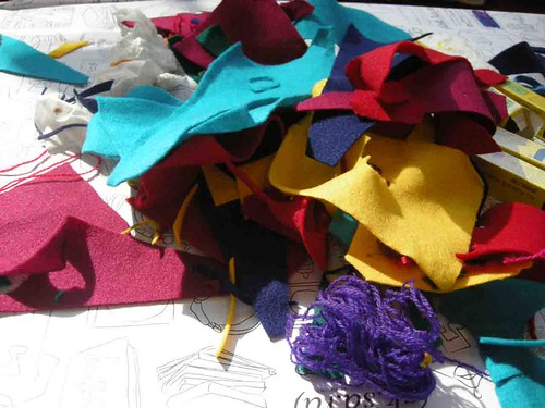 Felt Corsage Workshop#3 | by vantiani